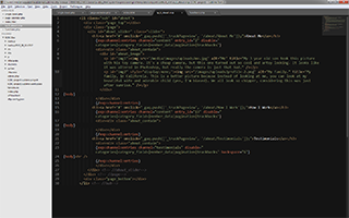 Writing code and loving it.  I use Sublime Text 2, in case you're curious.